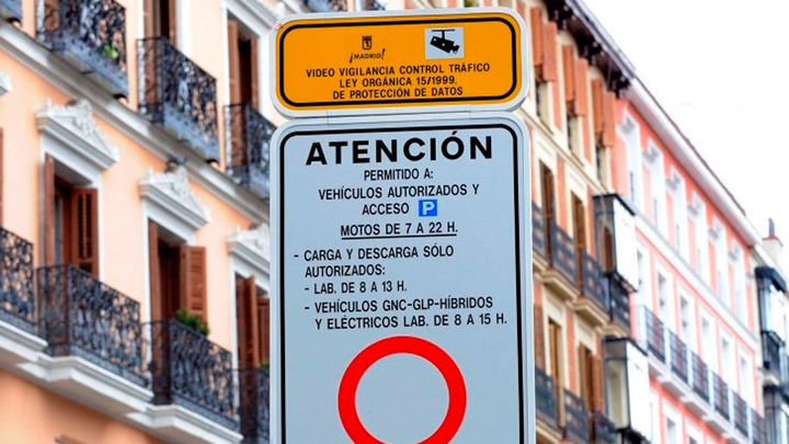 El centro de Madrid se prepara para las restricciones al tráfico