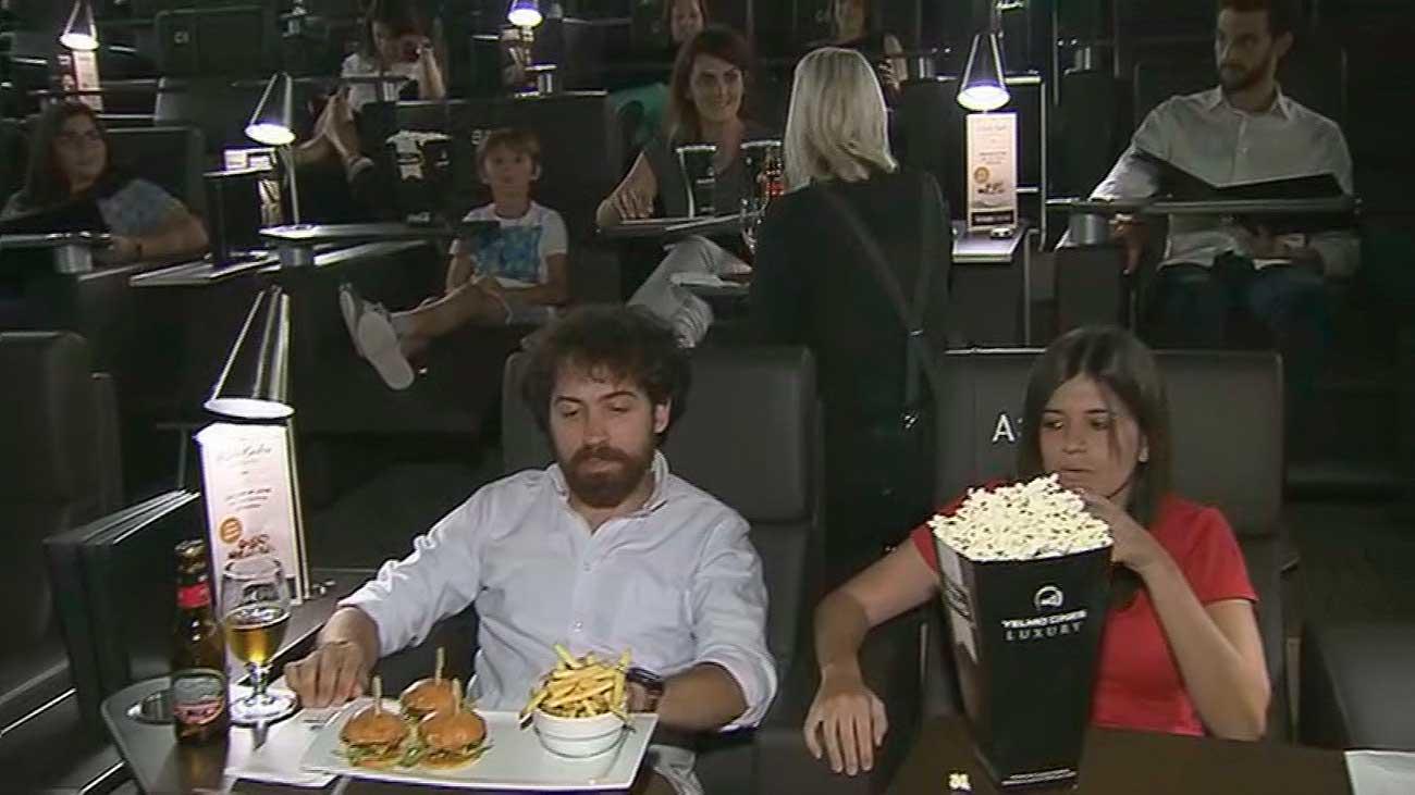 Una sala de cine de lujo
