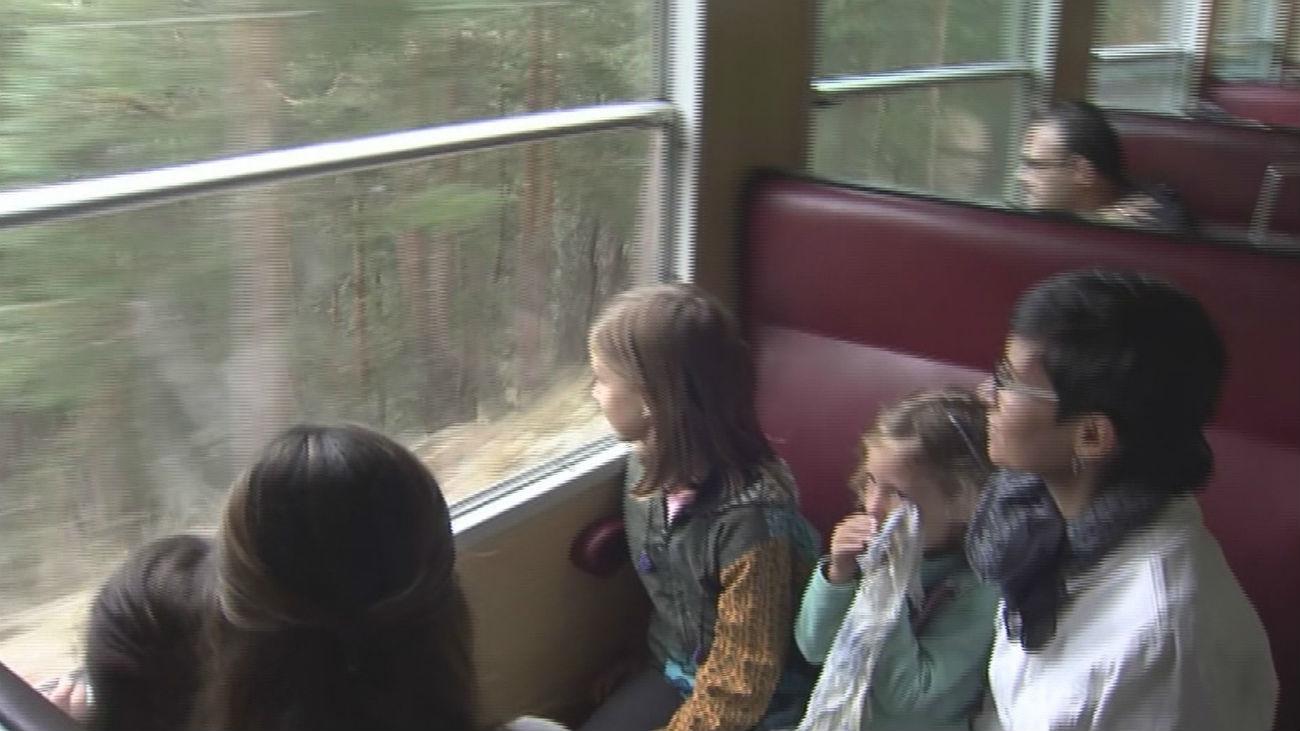 Cercedilla: a la naturaleza en tren