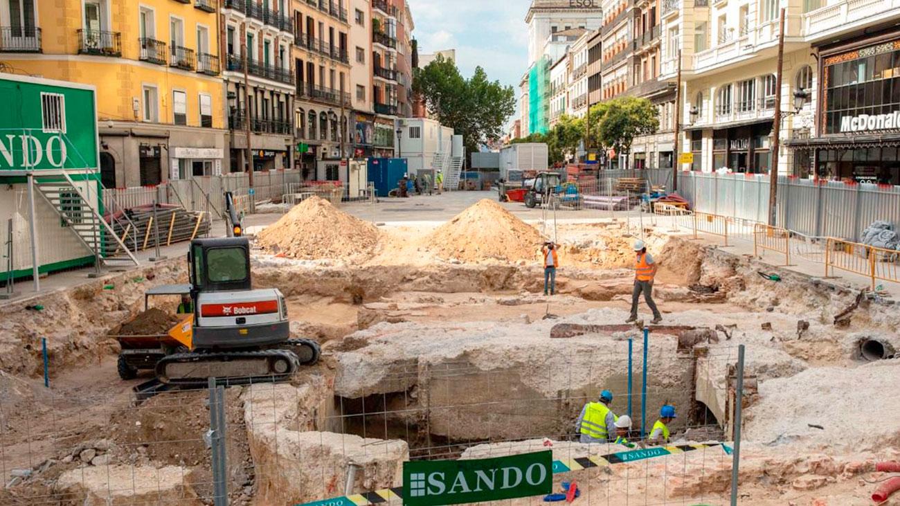 Los tesoros que oculta Madrid bajo nuestros pies