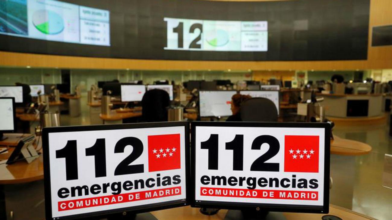 Emergencias 112 Comunidad de Madrid