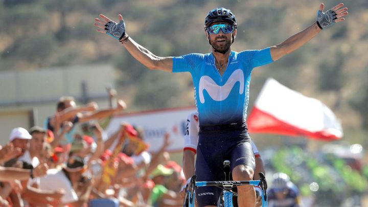 Valverde se impone en Caminito del Rey, Kwiatkowski nuevo líder