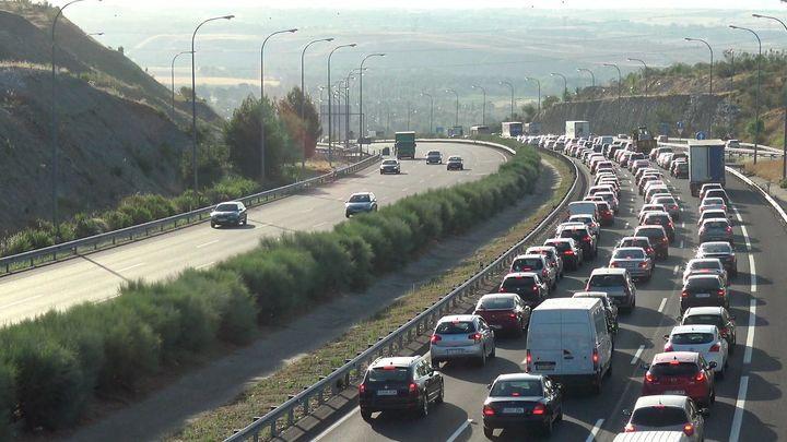 Más de 5 millones de desplazamientos por carretera en el Puente del Pilar