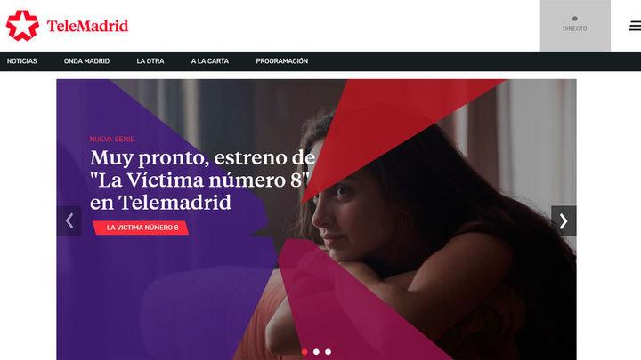 Telemadrid culmina la renovación de su web para ofrecer los contenidos en una experiencia multipantalla