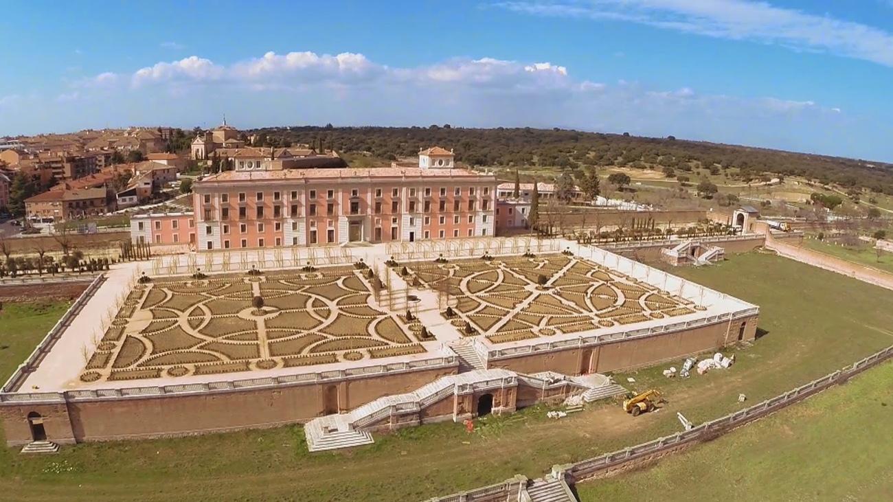 Las huertas del Palacio del Infante en Boadilla, estarán listas para primavera