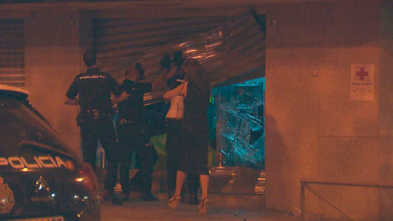 La banda del BMW lleva a cabo tres alunizajes en una noche