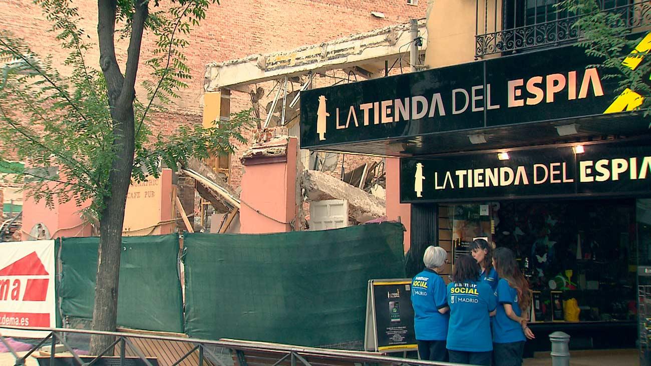Los vecinos de la calle Alcalá ya pueden volver a sus casas