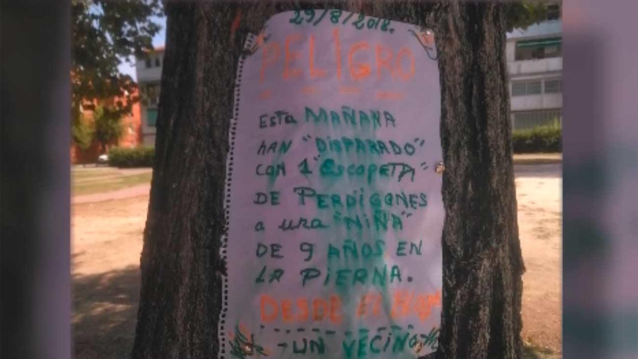 Se investiga un 'perdigonazo' en Alcalá de Henares