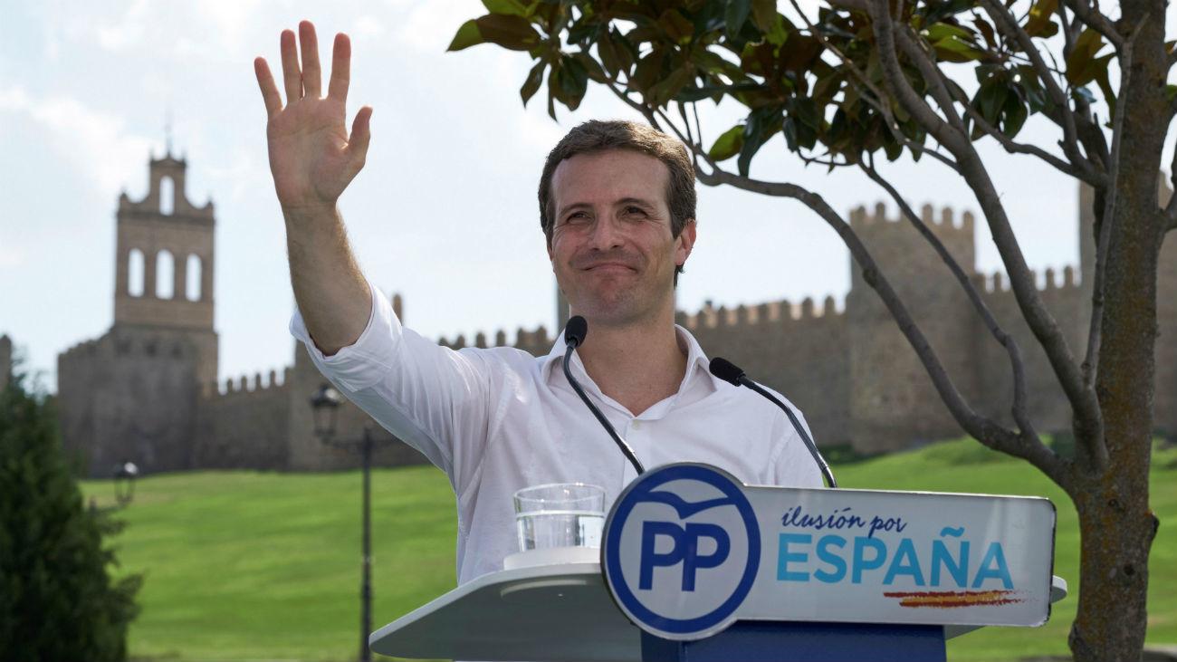 Casado acusa a Sánchez de buscar la crispación y fortalecer al separatismo