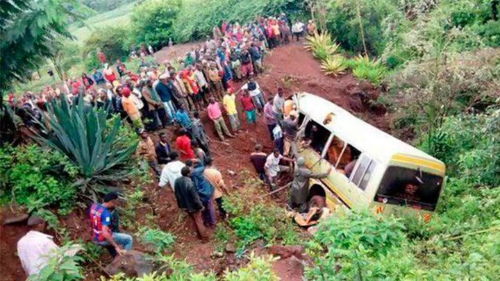 Tres españoles fallecidos en un accidente de tráfico en Tanzania