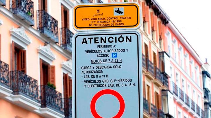 Madrid Central se inicia en pruebas el 23 de noviembre
