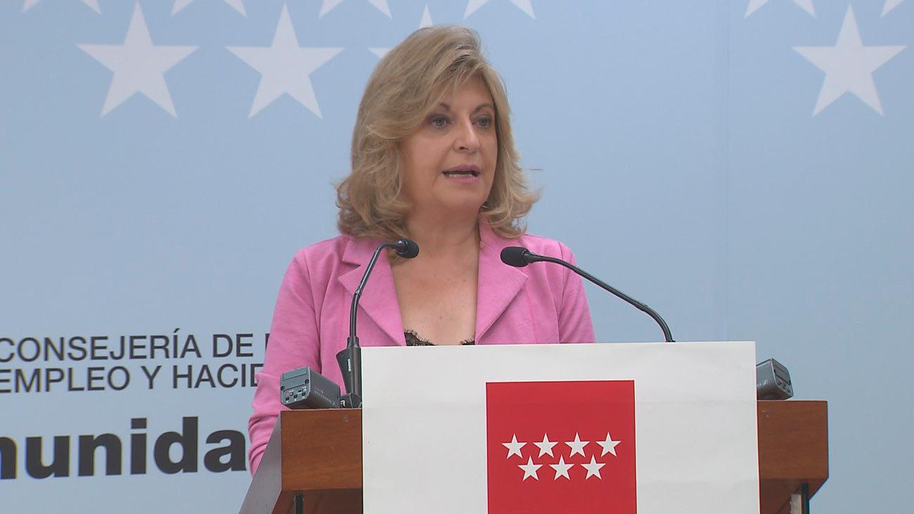 """Engracia Hidalgo: En Madrid, el empleo va """"en la dirección adecuada"""""""
