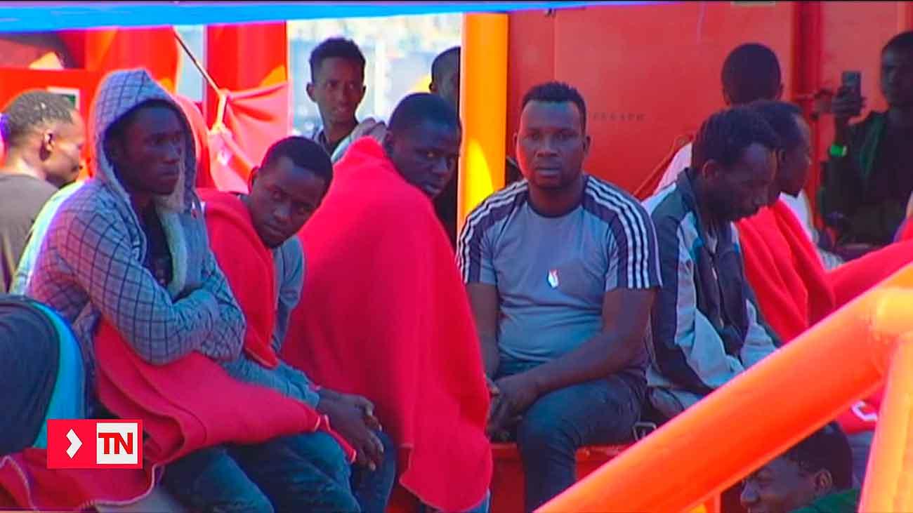 Más de 600 inmigrantes rescatados en la costa andaluza en las últimas 48 horas