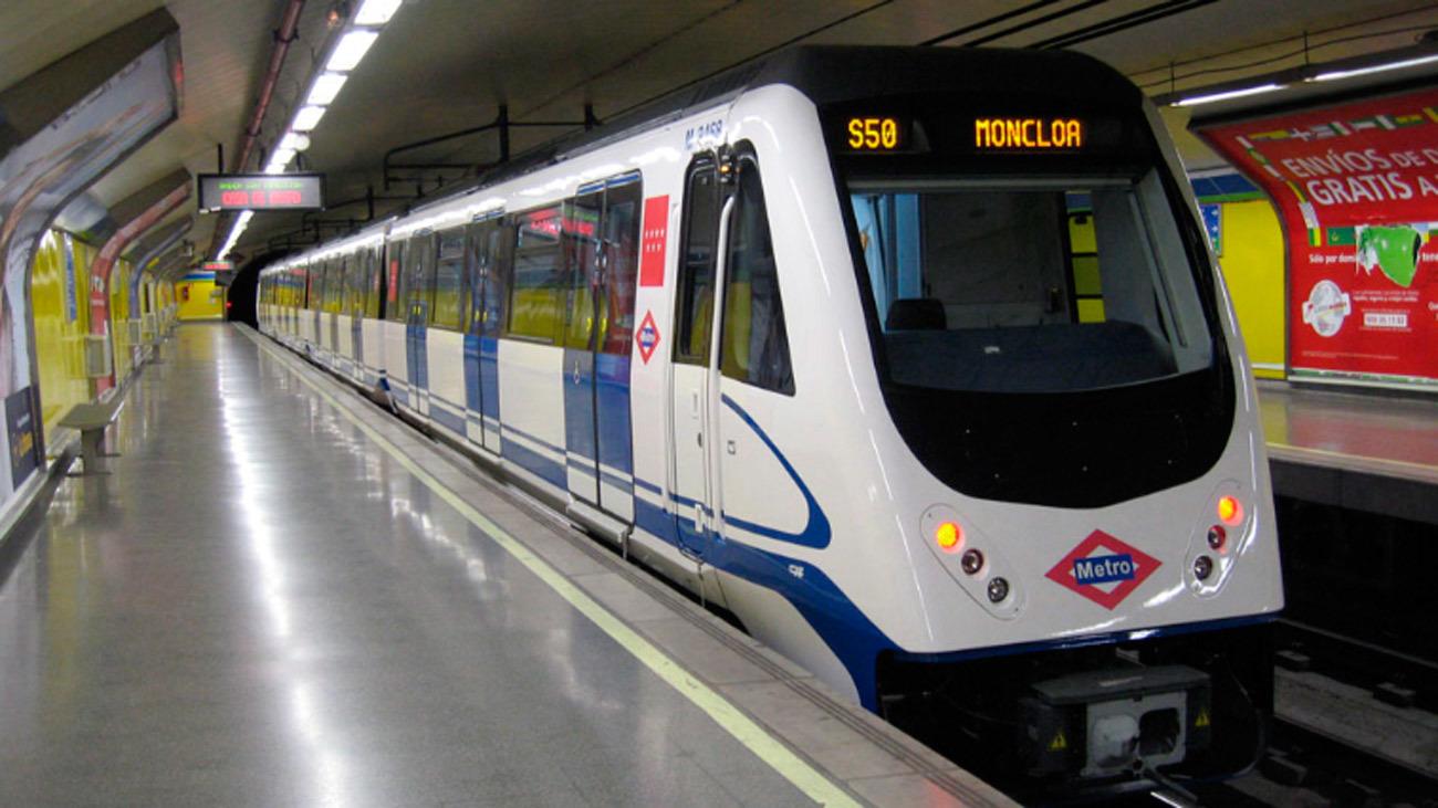 Circulación interrumpida en la línea 6 de metro