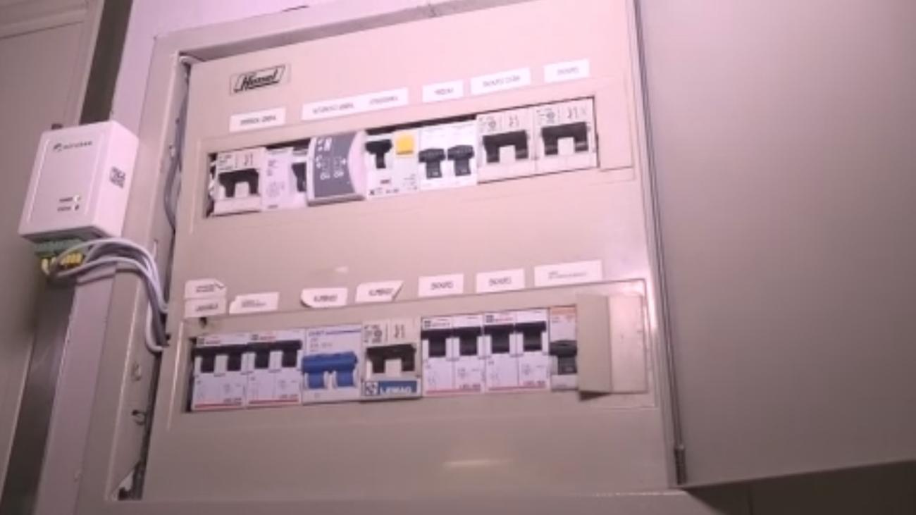 Cuadro eléctrico donde podemos controlar nuestro consumo de electricidad en tiempo real