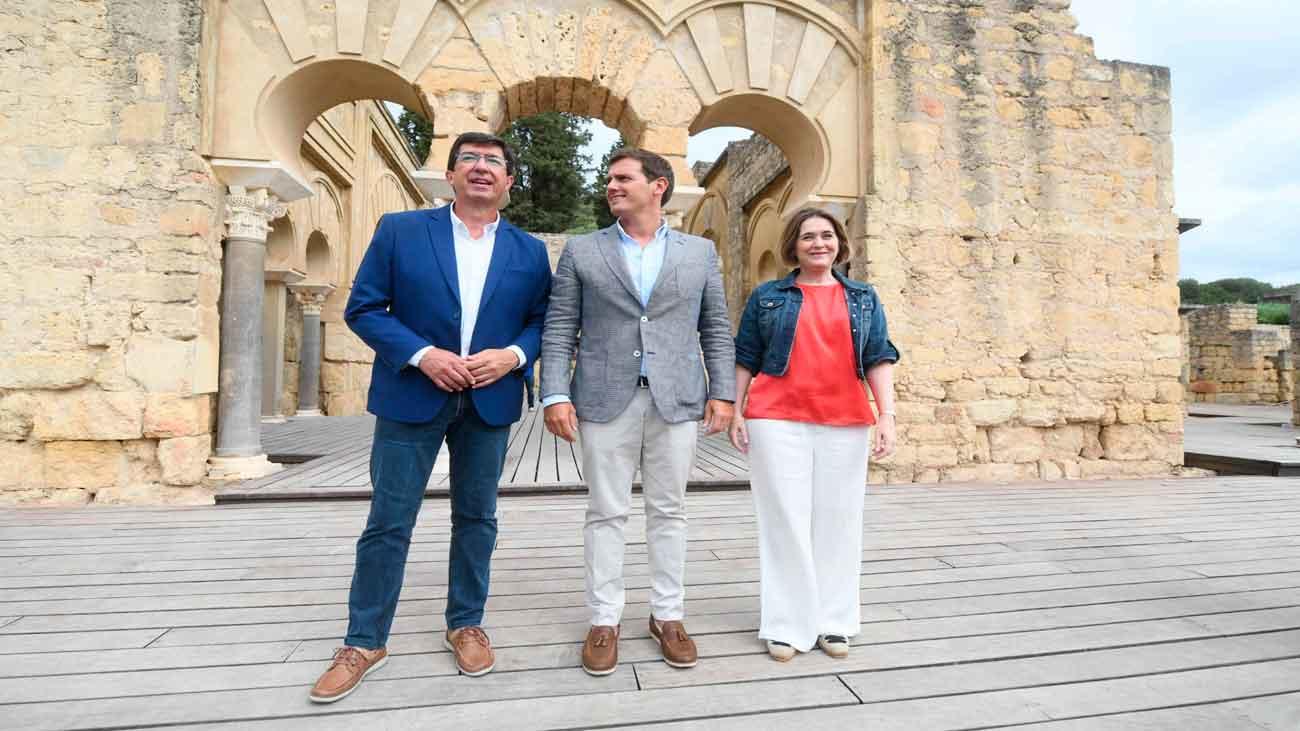 """Rivera pide al PSOE rectificar o """"tomará una decisión"""" sobre el pacto en  Andalucía"""