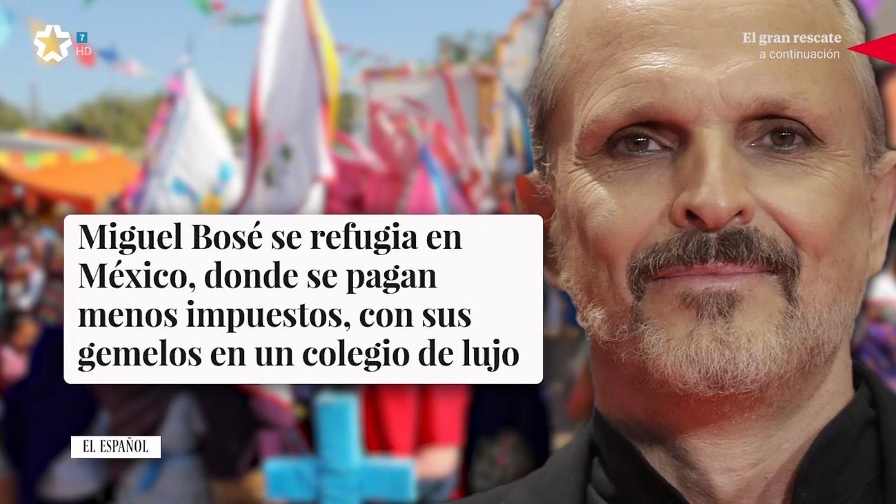 Miguel Bosé cambia Madrid por México