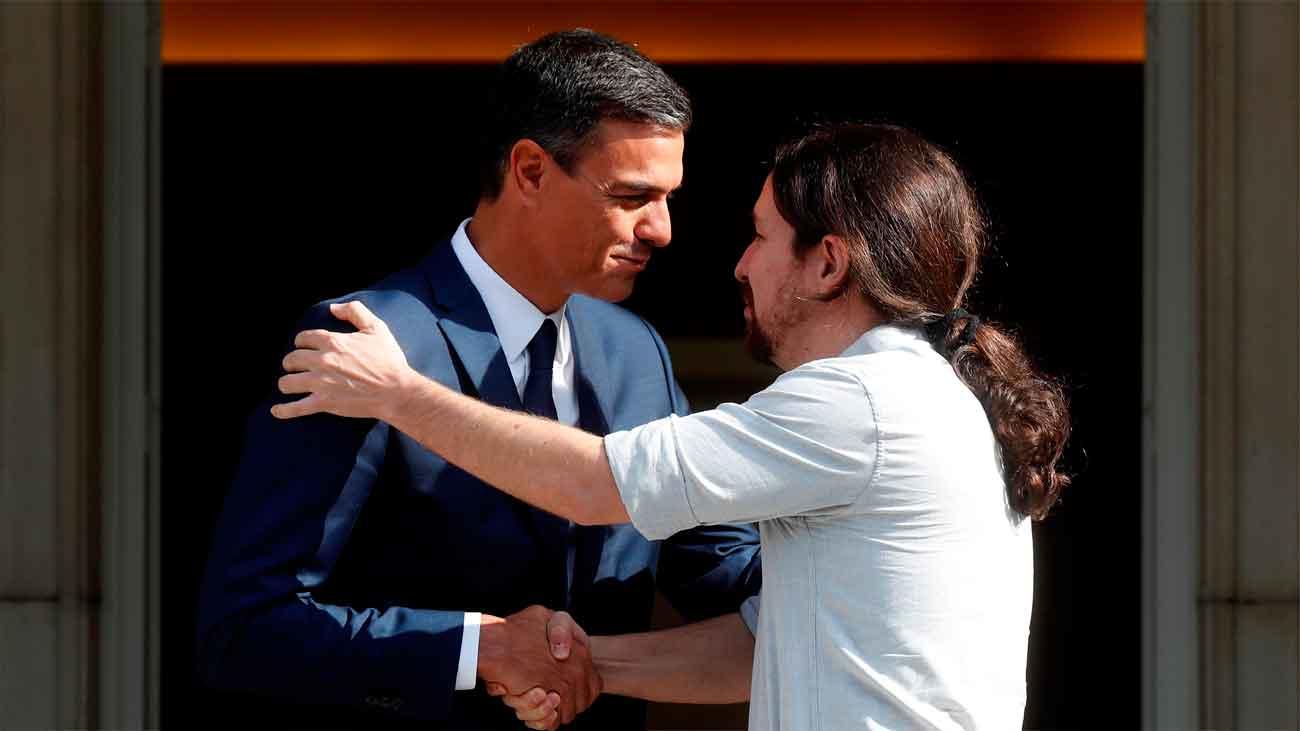 Sánchez e Iglesias se reunen para  negociar el apoyo de Podemos a los Presupuestos