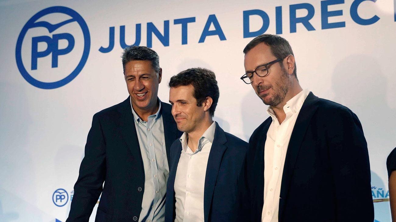 """Casado dice que """"se empiezan a dar las circunstancias"""" para aplicar el 155 en Cataluña"""