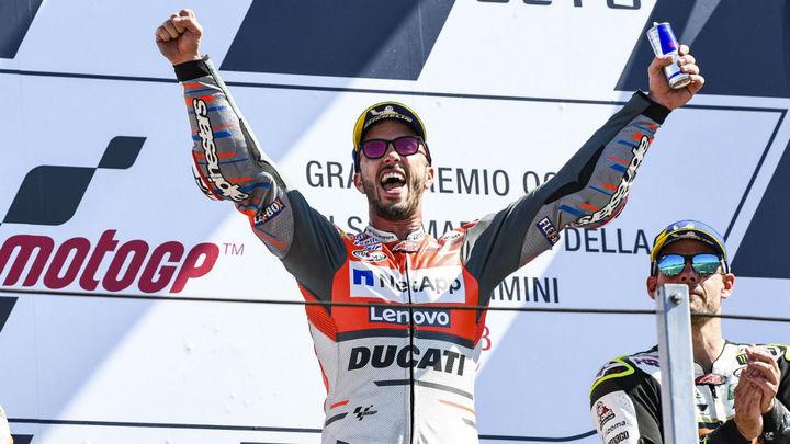 GP San Marino: Italia logra el triplete