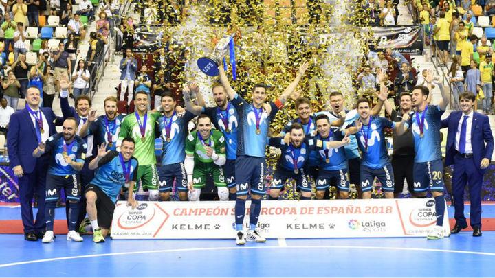 2-2 (4-3). El Ínter Movistar, supercampeón de España