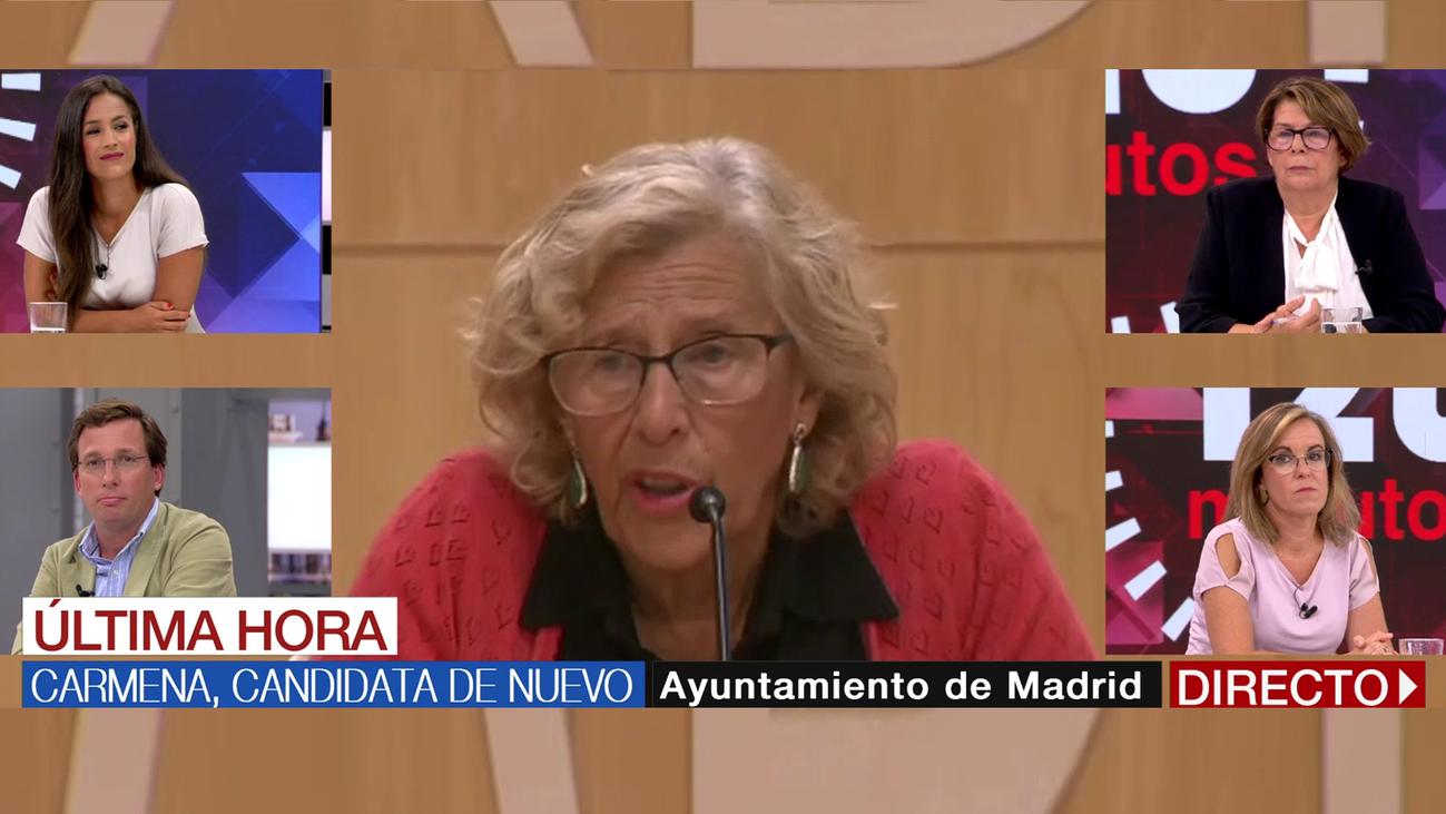 Las primeras reacciones de los portavoces municipales tras el anuncio de la candidatura de Carmena