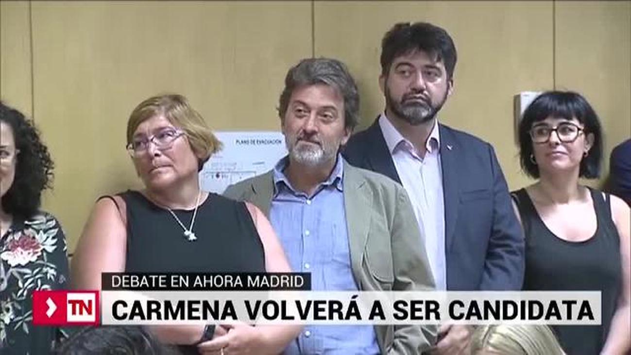 Debate en Ahora Madrid sobre la continuidad de Carmena