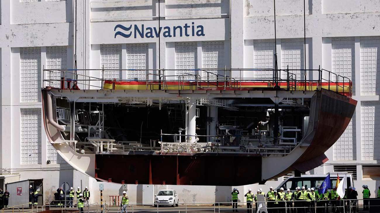 Los trabajadores de Navantia mantienen las movilizaciones