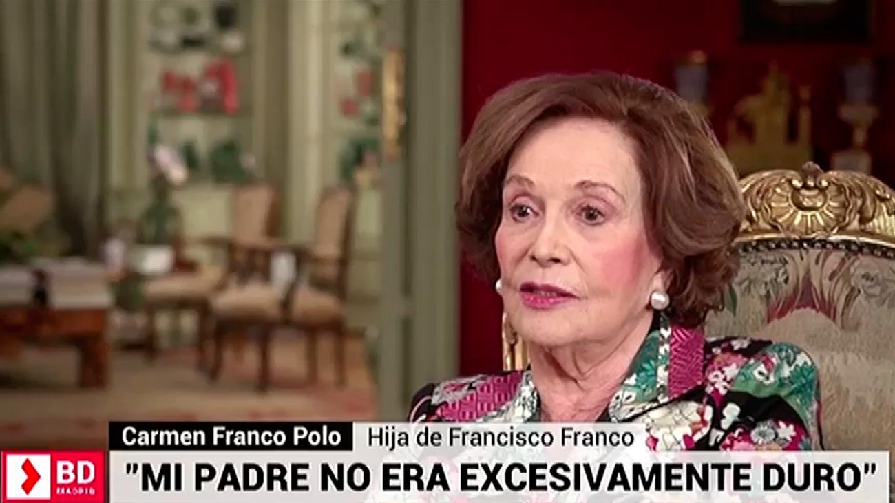 Entrevista póstuma con Carmen Franco y Polo, la hija del dictador