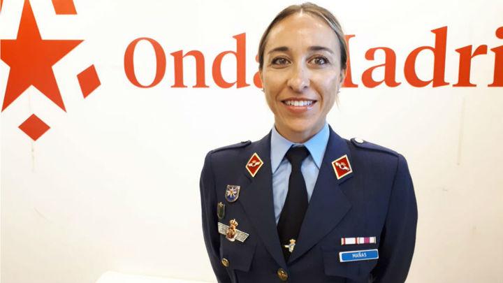 Entrevista a Pilar Mañas, primera oficial del Ejército del Aire