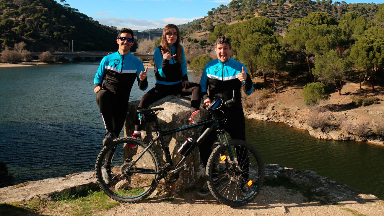 Km de bicicleta: Cuenca del Alberche. Colmenar del Arroyo-Colmenar del Arroyo