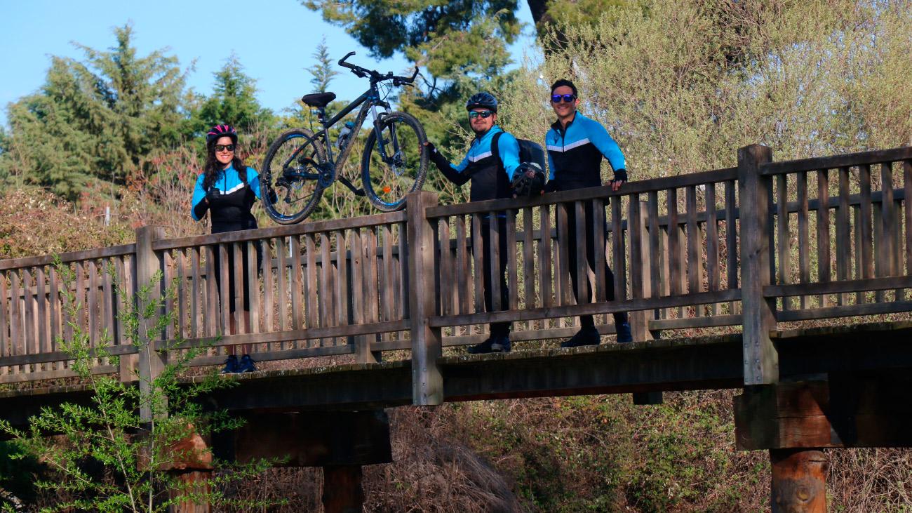 Km de bicicleta: Pulmones de Madrid; El Pardo–Casa de Campo