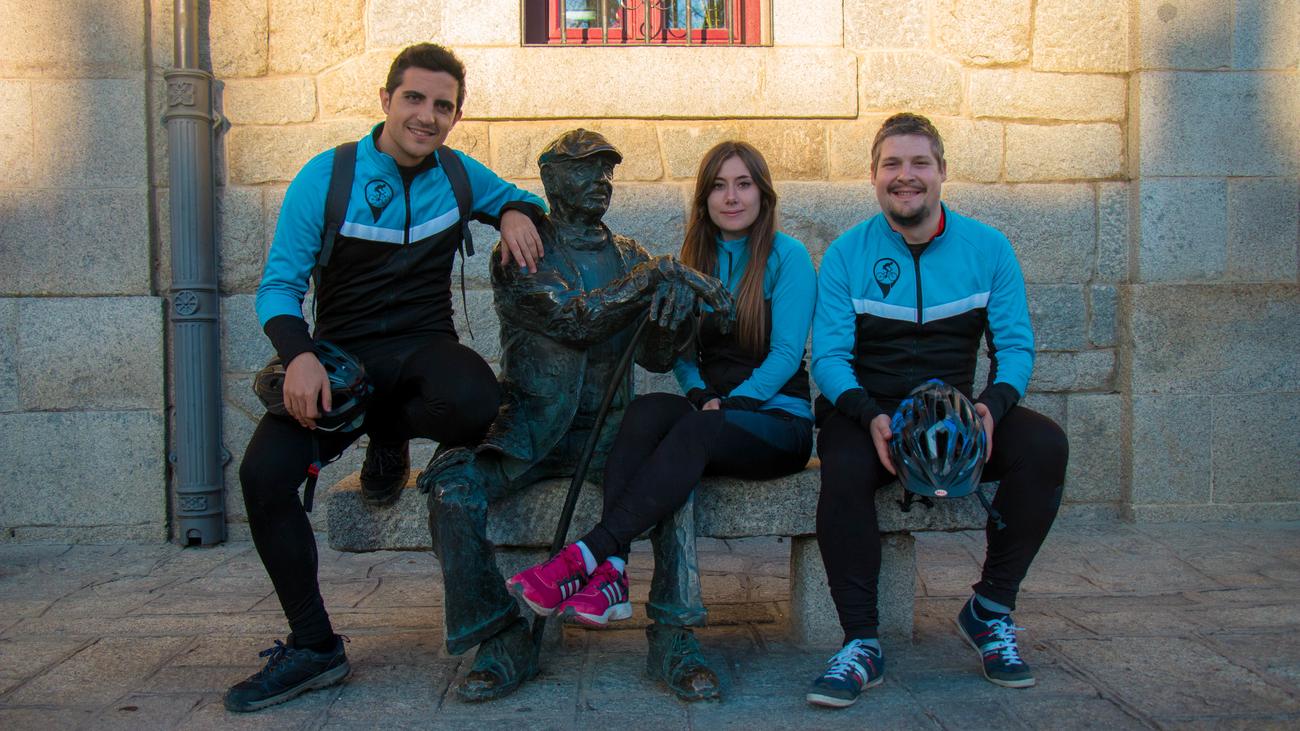 Km de bicicleta:  Valle de la Fuenfría-San Lorenzo de El Escorial