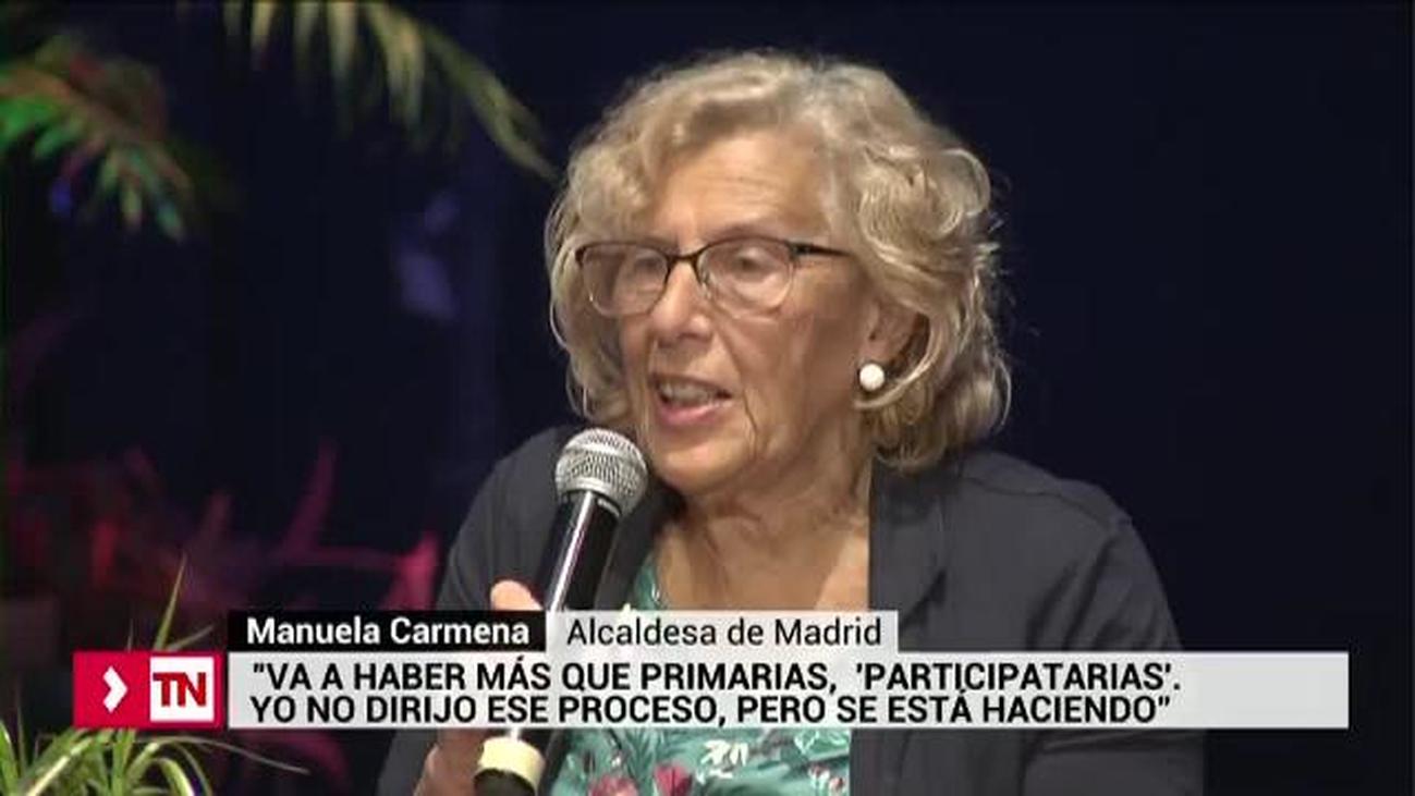 Carmena quiere que haya primarias 'participativas'