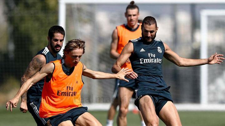 El Madrid prepara la visita a San Mamés con la plantilla al completo