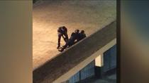 Detenido por agredir a su pareja en San Fernando de Henáres