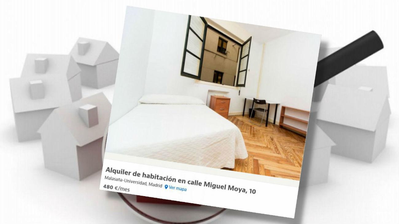 Alquileres abusivos a los estudiantes en Madrid a 400 euros la habitación