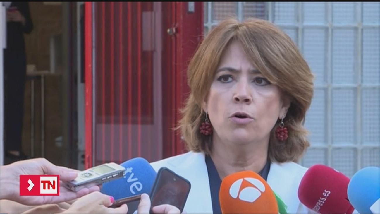 La ministra de Justicia niega cualquier relación profesional con Villarejo cuando fue fiscal