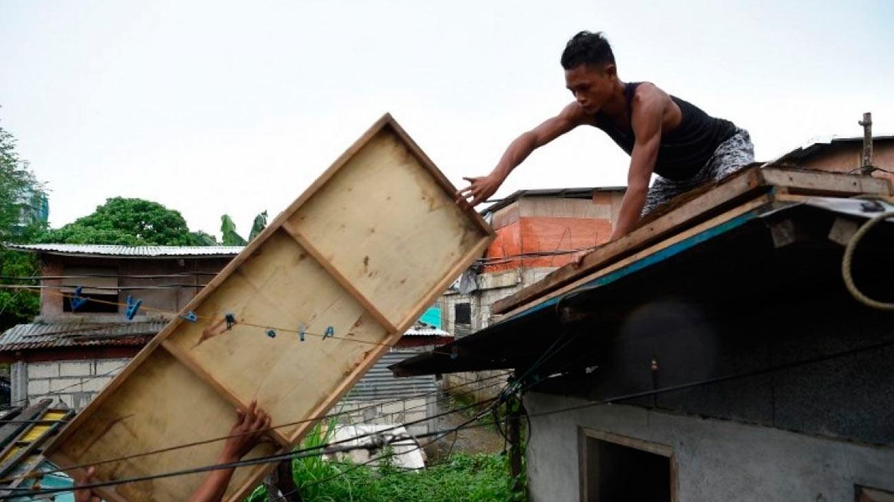 Ya son 65 los muertos tras el paso del supertifón 'Mangkhut' por Filipinas