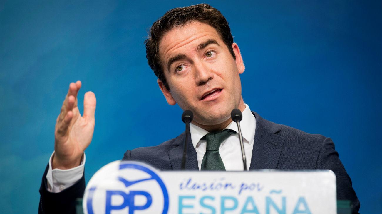 El PP cree que eliminar los aforamientos es para beneficiar a los golpistas catalanes
