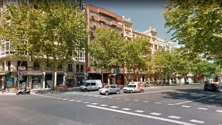 Cortes de tráfico  en el cruce de Alcalá con Príncipe de Vergara por las obras de Metro