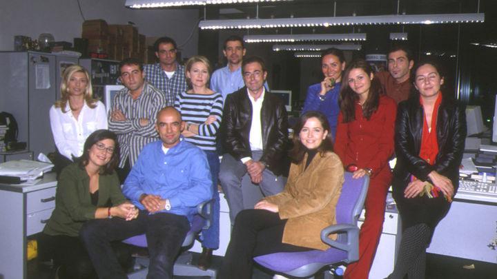 El equipo de redacción de Madrid Directo con Inmaculada Galván