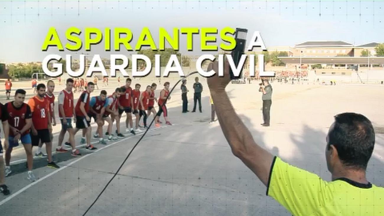 250 jóvenes con un mismo sueño: conseguir una plaza en la Guardia Civil