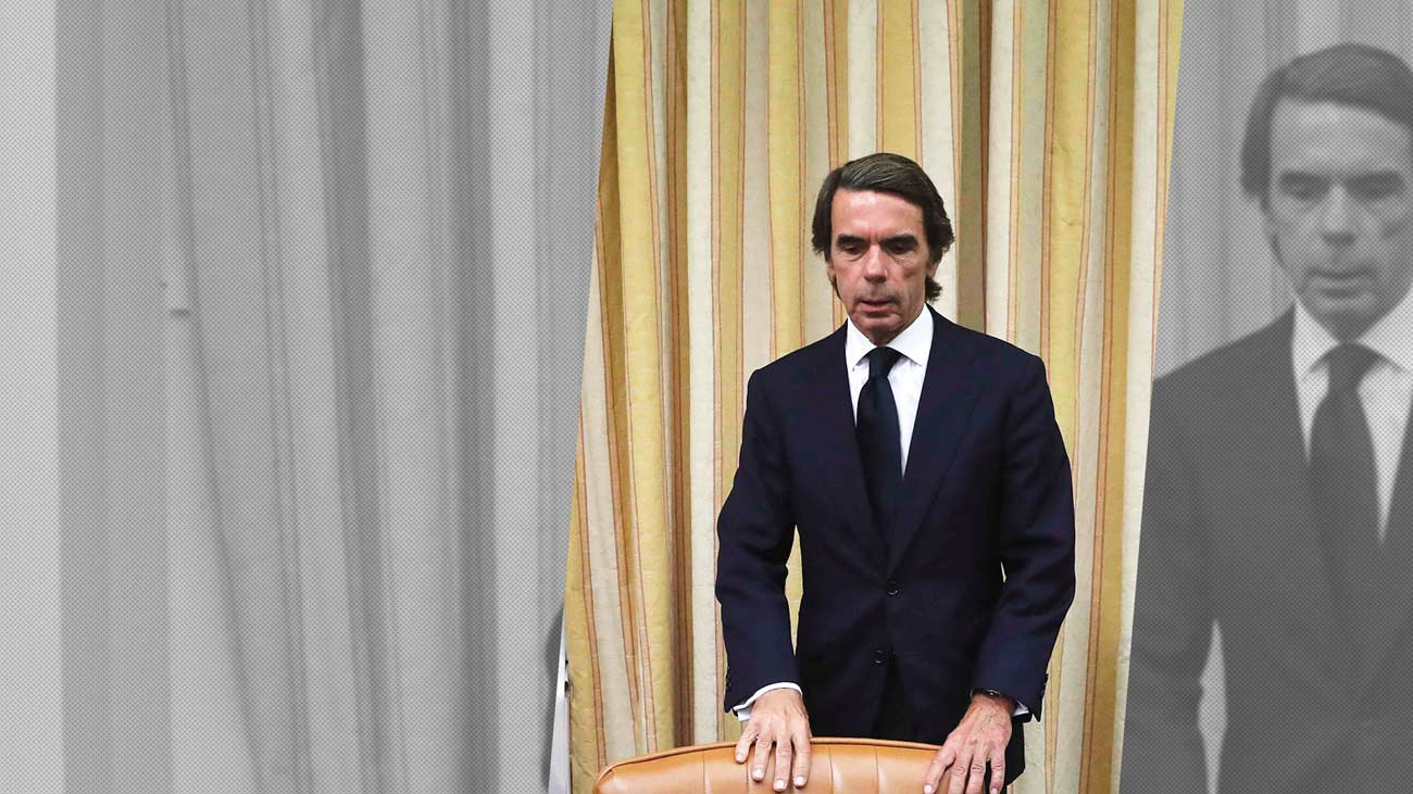 Aznar rechaza pedir perdón por la corrupción en el PP