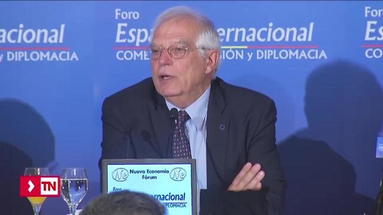 "Borrell a Junqueras: ""Un referéndum de secesión no está amparado por la ley europea ni internacional"""