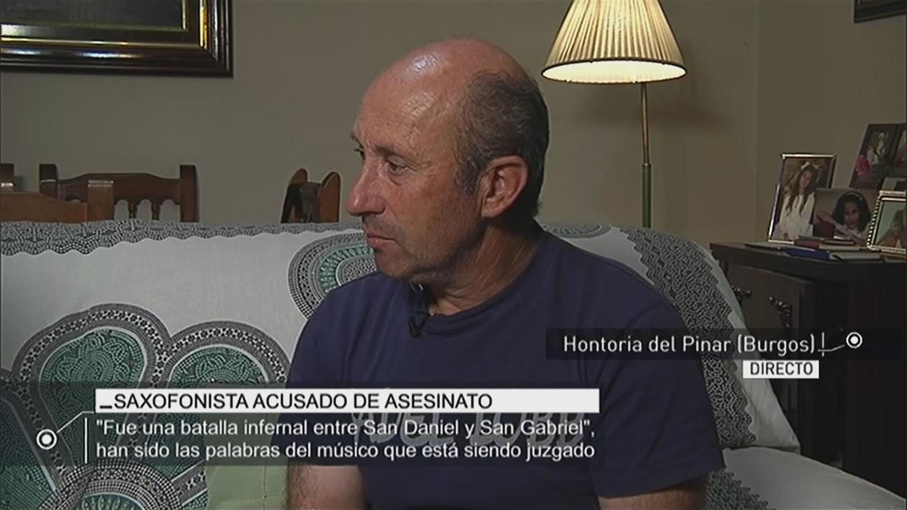 Entrevista al abuelo de la bebé que fue arrojada por una ventana