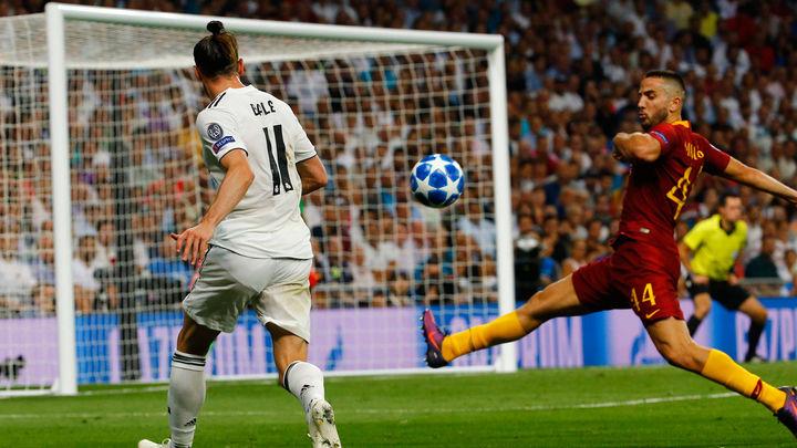 Gareth Bale hace el 2-0 del Madrid a la Roma tras tremendo carrerón