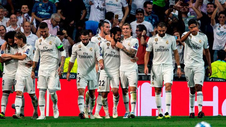 3-0. El Real Madrid arrolla al Roma