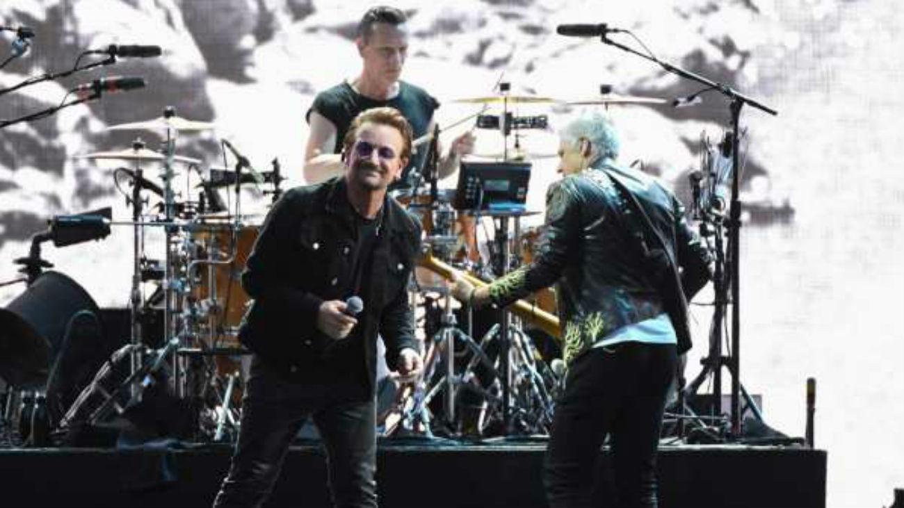 Gran expectación para ver a U2 en Madrid