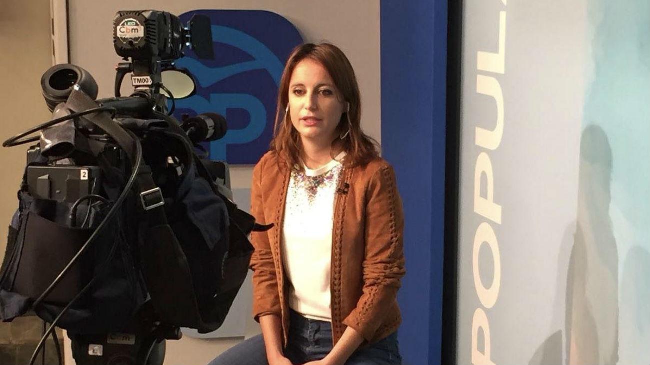 """Levy, en Telemadrid: """"Sánchez tiene miedo a la democracia"""""""